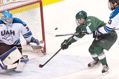 Bemidji State battled Ala.-Huntsville to a 1-1 tie Friday (2/26/16). Check out our photo gallery: http://www.bsubeavers.com/mhockey/photos/2015-16/808/mhockey-vs-ala-huntsville-22616/