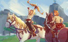The Legend Of Zelda, Legend Of Zelda Breath, Fight Me Meme, Character Concept, Character Design, Zelda Drawing, Princesa Zelda, Link Art, Fanart