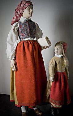Mor och dotter från Vingåker, 1860-tal