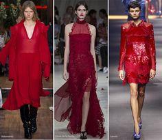 Spring/ Summer 2016 Color Trends: Scarlet  #trends #fashion #SS2016