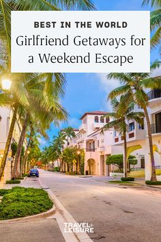 Whether you're #traveling with your #mom, your #sister, or a group of #friends, nothing beats a #weekendgetaway with the #girls. #travel #girlstrip #domestictravel #internationaltravel #girlfriendgetaway