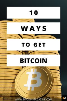 How to get Bitcoin. 10 different ways to get bitcoin. How to buy bitcoin. 10 different ways to buy bitcoin. #bitcoin #bitcoinmining #bitcoincash #bitcointrading #bitcoininformation #bitcoininvesting #cryptocurrency #crypto #cryptocurrencies #cryptonews #cryptocurrencytrading #cryptocurrencymining #cryptowallet #financetips Ways To Save Money, Make Money Online, How To Make Money, Investing Money, Crypto Currencies, Finance Tips, Money Management, Cryptocurrency, As You Like