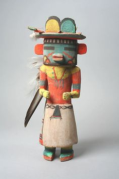 Hopi Katsina - Wood-Sculpture, 20th century http://www.metmuseum.org/Collections/search-the-collections/50000786?rpp=20=1=*=Hopi=7
