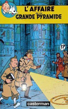 Les Aventures de Tintin - Album Imaginaire - L'Affaire de la Grande Pyramide: