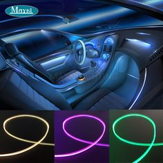 6w rgb car roof top ceiling star light for mini led light engine and side emitting fiber optic lighting car fiber optics mini 15w cree led light engine and aloadofball Image collections