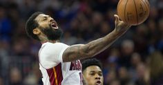 Feb 11, 2017; Philadelphia, PA, USA; Miami Heat forward James Johnson (16) loses control of the ball while shooting against the Philadelphia 76ers during the second quarter at Wells Fargo Center. Mandatory Credit: Bill Streicher-USA TODAY Sports   The Chicago Bulls have had some solid picks in...
