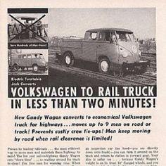 Vw rail truck