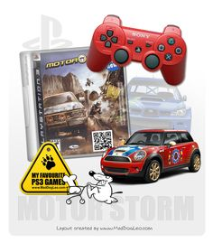 Playstation PS3 games by Sony - Motor Storm-Survive The Off-Road - MadDogLeo.com