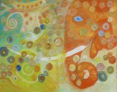 "Saatchi Art Artist Shalev Mann; Painting, ""Bubbles"" #art"