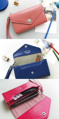 It's a compact wallet to store and carry a small size smartphone or an electronic device along with cards, bills, earphones and other small items! The wrist strap is great for carrying the wallet lot more conveniently.