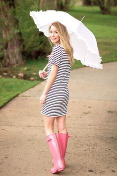 Chic on the Peak: Rainy Day