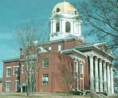 The old Bartow County Georgia Courthouse is still in use today even though a new building also houses some of the offices. Built in 1902, it is a National Historic Site in Cartersville. <3 nana gloria