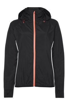 Primark - Black Coral Zip Up Workout Jacket