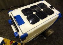 No ice, no problem. The Solar Cooler uses solar panels to keep things chill in remote places, on the beach, or when camping out. Read this post by Amanda Kooser on CES 2014: Gadgets. via @CNET