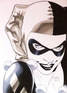 agrownupgeekgirl:  Harley Quinn by julianlopezart