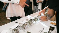 A couple had a marijuana bar at their recent wedding in Oregon.