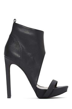 Jeffrey Campbell Sine Leather Bootie - Shoes