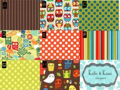 What a Hoot Alice Kennedy Retro Forest Owls