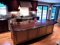 DeVos Custom Woodworking - Wenge Wood Countertop Photo Gallery