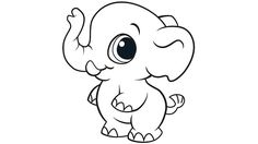 baby elephant coloring pages 11 Best Cute Baby Elephant Coloring Pages images | Animal coloring  baby elephant coloring pages