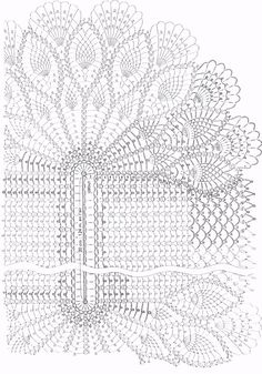 Oval Table Center  WONDER  Crochet Patterns