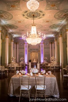 Wedding reception at the Biltmore Atlanta