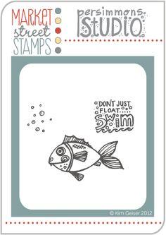Market Street Stamps - Fishie, $5.00 (http://www.marketstreetstamps.com/fishie/)