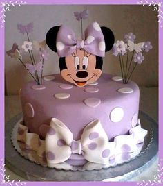 Minnie Mouse Cake!! So adorable for my Kayle's Birthday!!
