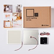 LG Display OLED Lighting DIY Kit.