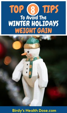 We can prevent fattening during the winter holidays if we know how to manage our daily meals and how to eat at festive meals. To avoid getting fat during the winter holidays, Christmas and New Year's Eve, we can resort to a few simple but effective strategies regarding the way we eat during this period. Let's see 8 of these.