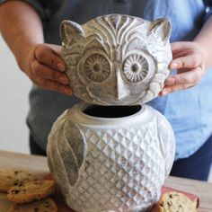 Night Owl Cookie Jar