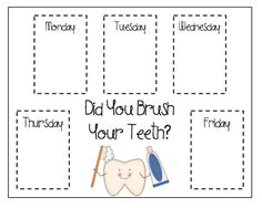 """Did You Brush Your Teeth?"" poster"
