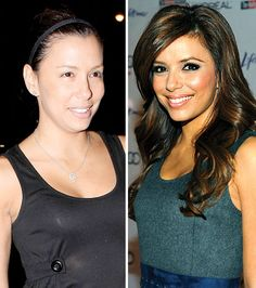 "Eva Longoria Parker      ""Tony [Parker] says he loves the way I look when I wake up in the morning,"" she has said about her hubby....uh, he lied!!!! LOL"