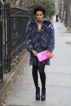 Solange Knowles - Today I'm Wearing - Vogue UK