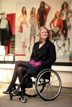 wheelchair+fashion | ... First Wheelchair Model | Fashion & Beauty | Life | Epoch Times