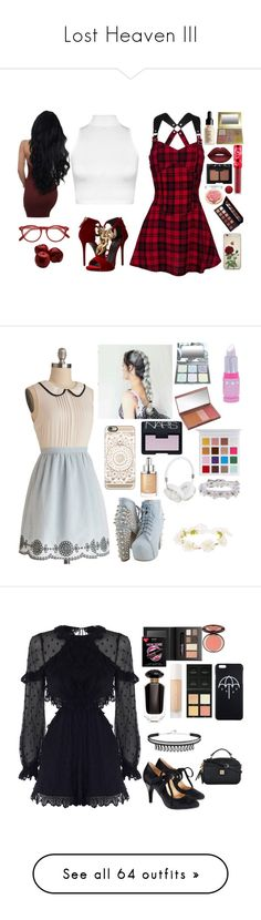 """Lost Heaven III"" by lucyheartyui ❤ liked on Polyvore featuring WearAll, Giuseppe Zanotti, NARS Cosmetics, Cutler and Gross, Cotton Candy, Urban Decay, My Little Pony, Casetify, Christian Dior and Frends"