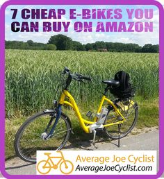 Check out these high quality, cheap ebikes under $1000. These bikes are affordable, but well built, and they get great reviews. #AverageJoeCyclist #ebikes #ElectricBikes #Amazon Cycling Workout, Cycling Gear, Average Joe, Bike Reviews, Good And Cheap, Training Plan, Best Budget, Cyclists, Amazon