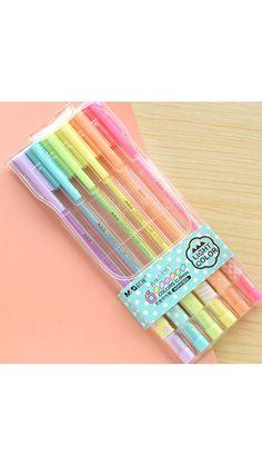 Office & School Supplies 4 Pcs Kawaii Long Ears Rabbit Gel Pen Papelaria Student Stationery 0.38mm Rollerball Pen Cute Cartoon Kids Gift Numerous In Variety Gel Pens