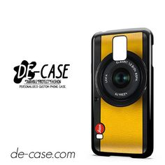 Lemon Yellow Leica Camera DEAL-6420 Samsung Phonecase Cover For Samsung Galaxy S5 / S5 Mini