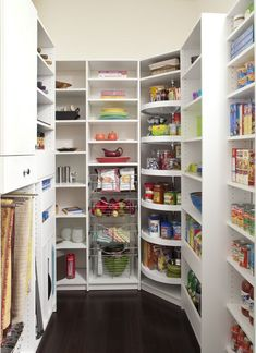 """Traditional Pantry with High ceiling, Hardwood floors, Hickory - Blackened Brown Solid Hardwood (2.25""""/3.25""""/5"""")"""