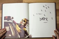 the dark knight: movie illustrations by Marie Bergeron