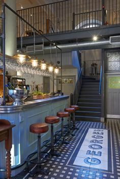 George's Fish & Chip Kitchen: Philip Watts Design - Restaurant & Bar Design