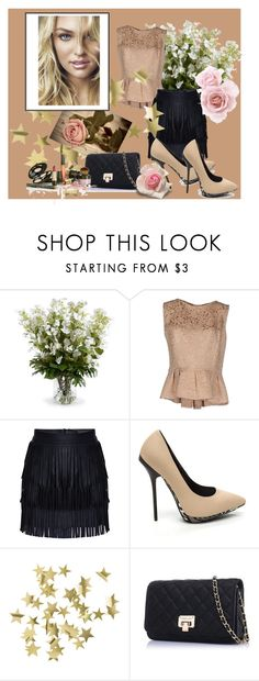 """Love, rose, sweet pink"" by jasmila31 ❤ liked on Polyvore featuring New Growth Designs, Christian Dior and H&M"