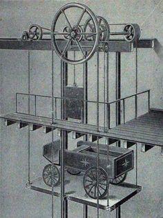 paternoster lift construction pinterest. Black Bedroom Furniture Sets. Home Design Ideas