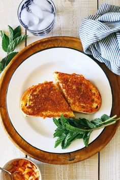 grilled cheese sandwich with...kimchi?