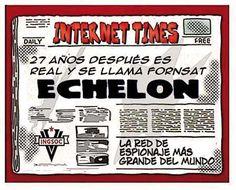 Sobre red espionaje #Echelon ahora llamada #FornSat http://khandika01.blogspot.com/2015/08/red-espionaje-echelon-fornsat.html… #conspiracion #conspiranoia #ciberespacio