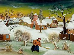 Resultado de imagen de Ivan Generalic - Croatian naive painter