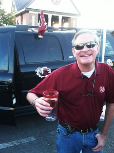 "John: ""At The gamecock Pavilion in Columbia getting ready for another Gamecock Victory"" #winesippycup #Vino2Go @The Product Farm store.theproductfarm.com"