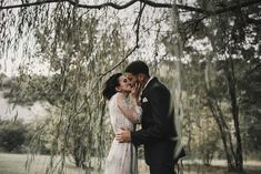 Bride & Groom Portrait Shots - Abruzzo Italy Wedding With Bride In Bespoke Embellished Dress And Groom In Dsquared Suit With Rustic Styling And Images by Atlas Wedding Stories