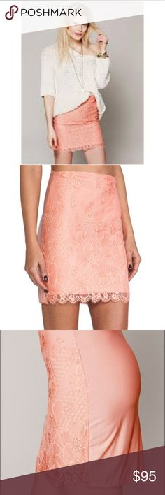 FOR LOVE AND LEMONS Flower Bomb Slip Skirt FOR LOVE AND LEMONS Flower Bomb Slip Skirt size medium. Brand new without tags. Elastic waist. Seems to run a little small. For Love and Lemons Intimates & Sleepwear Chemises & Slips